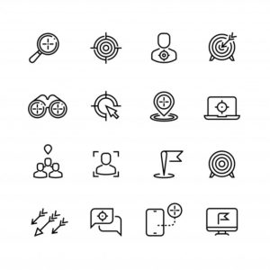 bullseye-iconos-linea-orientacion-al-cliente-orientacion_53562-7046