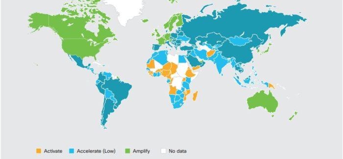 Estudio de Cisco revela el nivel de preparación de los países, para crear una economía digital